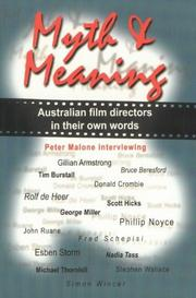 Cover of: Myth and Meaning (FILM)