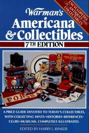 Cover of: Warman's Americana & Collectibles