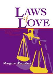 Cover of: Laws of Love | Margaret Pounders