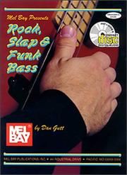 Cover of: Rock, Slap and Funk Bass with CD |