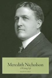 Cover of: Meredith Nicholson