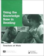 Cover of: Using the knowledge base in reading