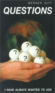 Cover of: Questions