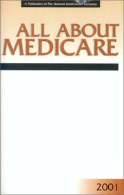 Cover of: All About Medicare 2001 | Joseph F. Stenken