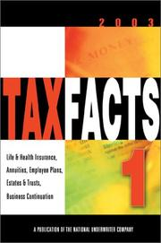 Cover of: Tax Facts 1 |