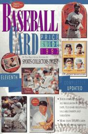 Cover of: Baseball Card Price Guide 1997 (Serial)