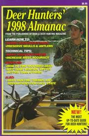 Cover of: Deer Hunter's 1998 Almanac (Deer Hunters' Almanac)