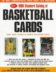 Cover of: 1998 Standard Catalog of Basketball Cards