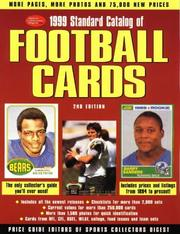 Cover of: 1999 Standard Catalog of Football Cards (Tuff Stuff Standard Catalog of Football Cards)