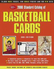 Cover of: 2000 Standard Catalog of Basketball Cards (Standard Catalog of Basketball Cards, 2000)