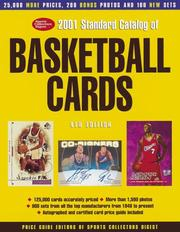 Cover of: 2001 Standard Catalog of Basketball Cards (Standard Catalog of Basketball Cards, 2001)