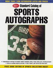 Cover of: Standard Catalog of Sports Autographs 2001 | Tom Mortenson