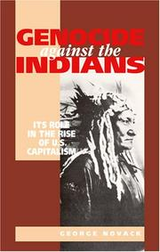 Cover of: Genocide Against the Indians