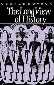 Cover of: Long View of History