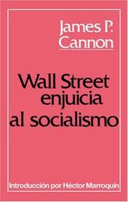 Cover of: Wall Street Enjuicia Al Socialismo