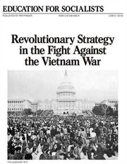 Cover of: Revolutionary Strategy in the Fight Against the Vietnam War