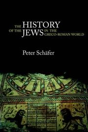 Cover of: History of the Jews in the Greco-Roman World