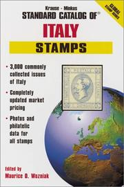 Cover of: Krause-Minkus Standard Catalog of Italy Stamps