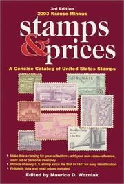Cover of: 2003 Krause-Minkus Stamps and Prices