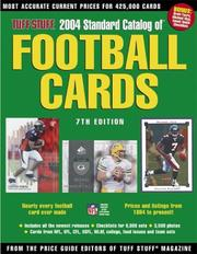 Cover of: 2004 Standard Catalog of Football Cards