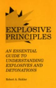 Cover of: Explosive Principles