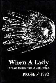 Cover of: When a lady