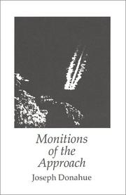 Cover of: Monitions of the Approach