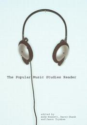 Cover of: The popular music studies reader | edited by Andy Bennett, Barry Shank, and Jason Toynbee.