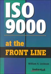 Cover of: Iso 9000 at the Front Line