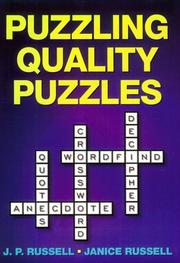 Cover of: Puzzling Quality Puzzles