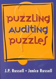 Cover of: Puzzling Auditing Puzzles