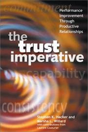 Cover of: The Trust Imperative | Stephen Hacker, Marsha L. Willard, Laurent Couturier