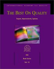 Cover of: Best on Quality