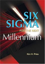 Cover of: Six Sigma for the Next Millennium