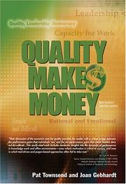Cover of: Quality Makes Money | Pat Townsend