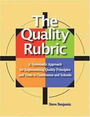 Cover of: The Quality Rubric