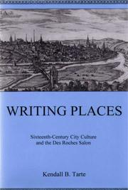 Cover of: Writing Places