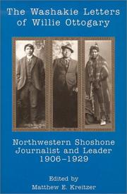 Cover of: Washakie Letters Of Willie Ottogary