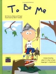 Cover of: To Be Me