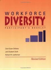 Cover of: Workforce Diversity Workshop Participant Book