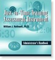 Cover of: Just In Time Training Assessment Package