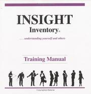Cover of: Insight Inventory Form A