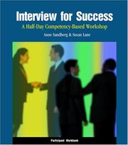 Cover of: Interview for Success | Anne Sandberg