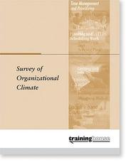 Cover of: Survey of Organizational Climate | Training House