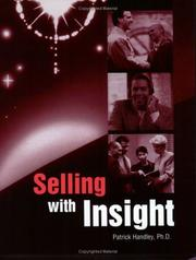 Cover of: Selling with Insight