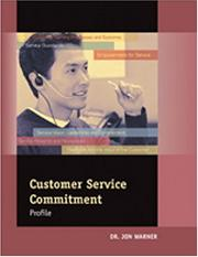 Cover of: Customer Service Commitment Profile Facilitators Guide