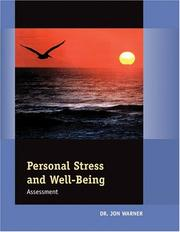 Cover of: Personal Stress &  Well-Being Assessment
