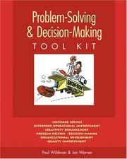 Cover of: Problem-Solving & Decision-Making Tool Kit