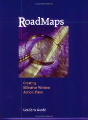 Cover of: Road Maps Creating Effective Written Action Plans Workshop