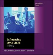 Cover of: Influencing Style Clock, Facilitator's Guide